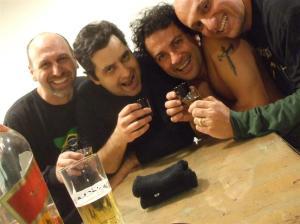 Macias, Ferraz, Coelho e eu